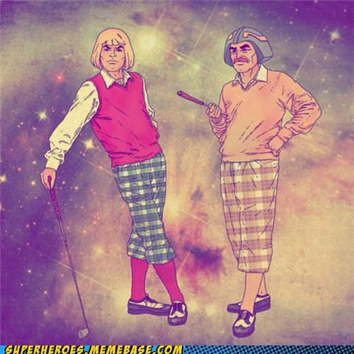 awesome Awesome Art clothes golf he man man-at-arms - 5248919296