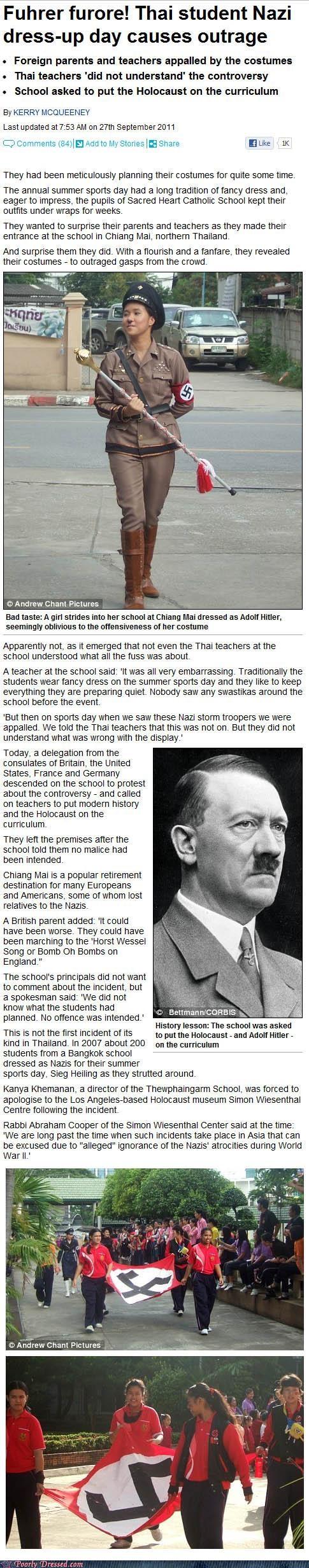 nazi news poor fashion coverage school swastika - 5248956416