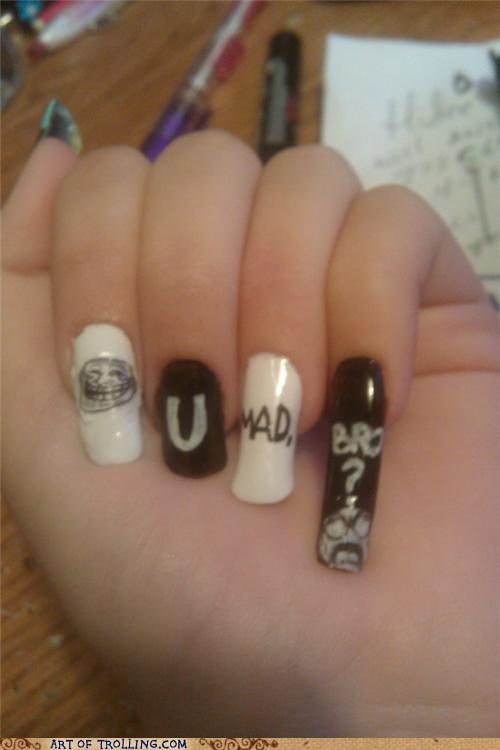 nails,u mad bro,fingernails