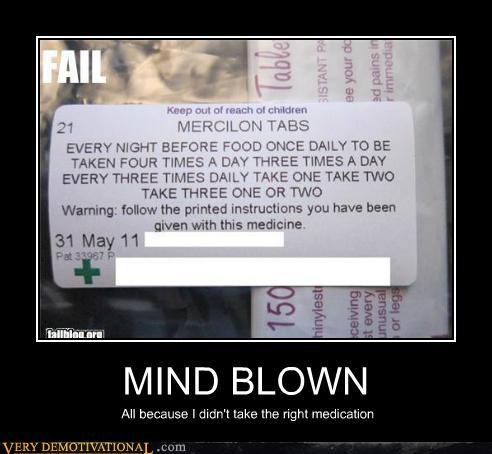 idiots instructions mind blown - 5249314816