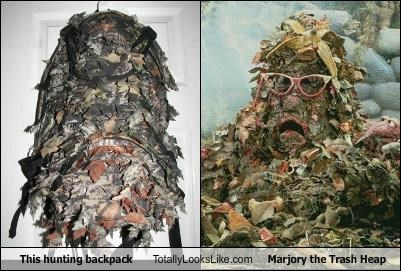 backpack,hunting backpack,marjory the trash heap,muppets