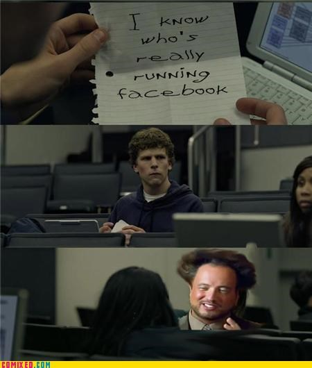 Aliens facebook Mark Zuckerburg meme the internets the social network - 5249782528