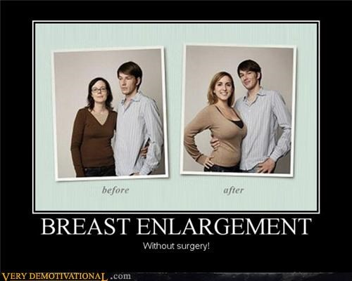 breast enlargement girlfriends happy hilarious Sad