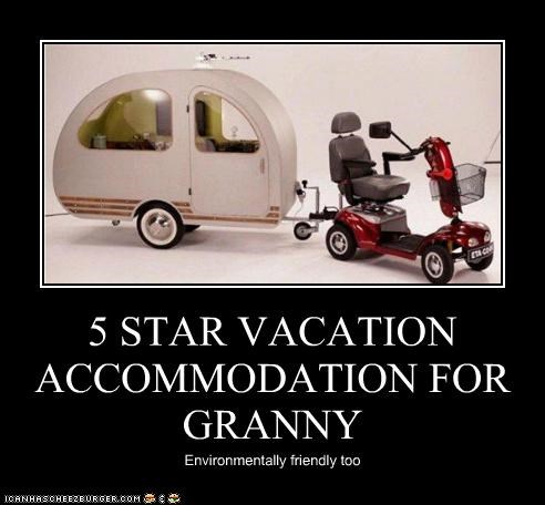 5 STAR VACATION ACCOMMODATION FOR GRANNY