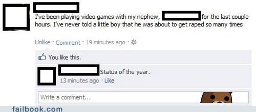 expletives lol nephew pedobear trash talk video games - 5250017536