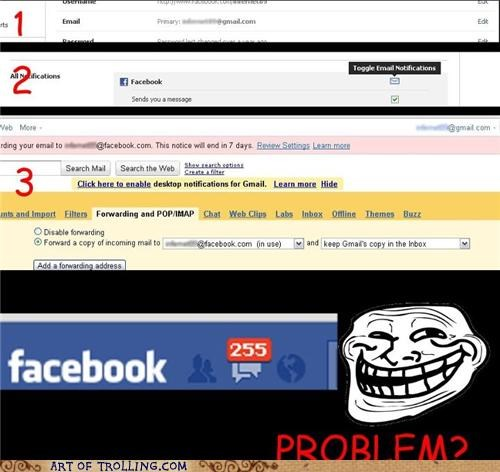 email facebook notifications - 5250286592