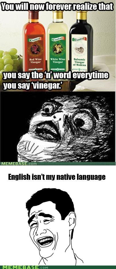 english jerks Memes racism vinegar - 5251186176