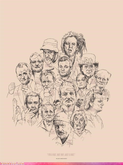 actor art awesome bill murray celeb cool - 5251247872