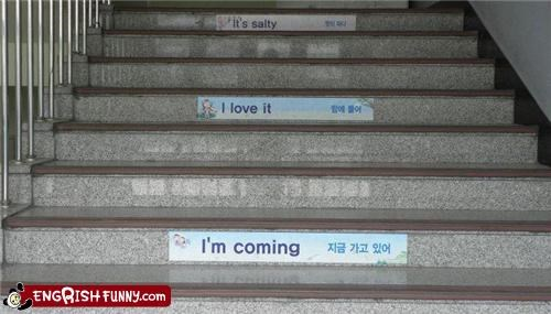 accidental sexy food Hall of Fame korean love school stairs