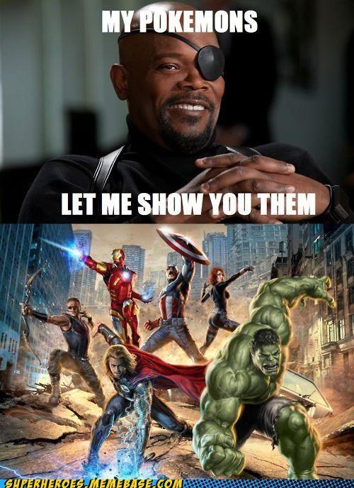best of week Black Widow hawkeye hulk iron man Nick Fury Super-Lols Thor - 5251607808