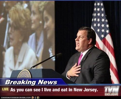 Chris Christie fat New Jersey politicians Pundit Kitchen - 5251667200