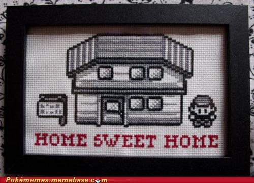 art,best of week,decoration,first gen,home sweet home,pallet town