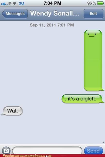 diglett iphone whale meme Memes sms text - 5251808000