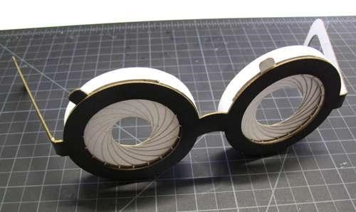 daily diy DIY geek glasses glasses iris glasses paper irises Tech - 5251822336
