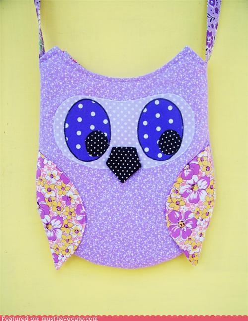 hoot Owl phone polka dot purse - 5251886336