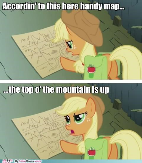 applejack comics handy map top of the mountain well - 5252356096