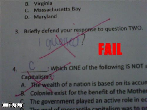 class failboat g rated school stupidity tests - 5252574720