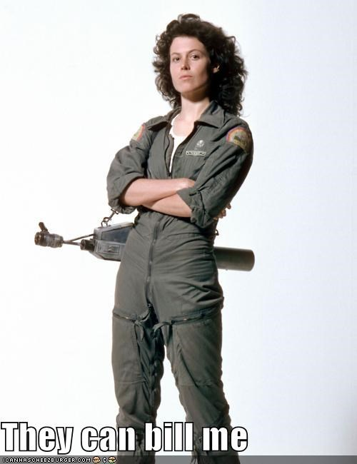 actor Aliens celeb funny Movie sigourney weaver - 5252769280
