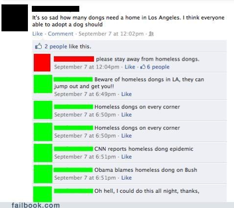 dongs spelling typos