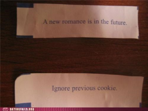 fortune cookie future prediction romance We Are Dating