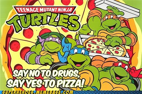 drugs fatty pizza Random Heroics TMNT - 5253049600
