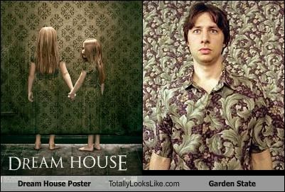 actors dream house garden state matching shirts movies Zach Braff