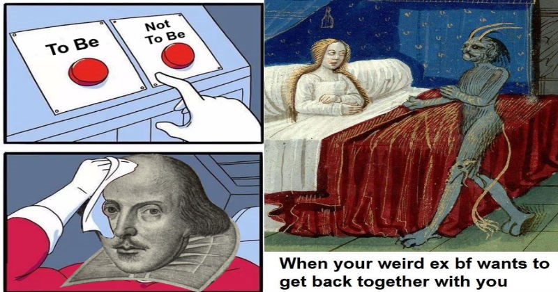 classical art renaissance art shakespeare Memes classic funny - 5253381