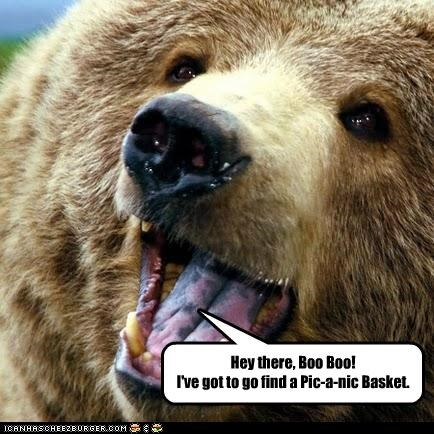 Hey there, Boo Boo! I've got to go find a Pic-a-nic Basket.