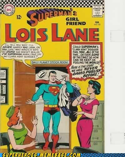 idiots,lana lang,lois lane,Straight off the Page,superman
