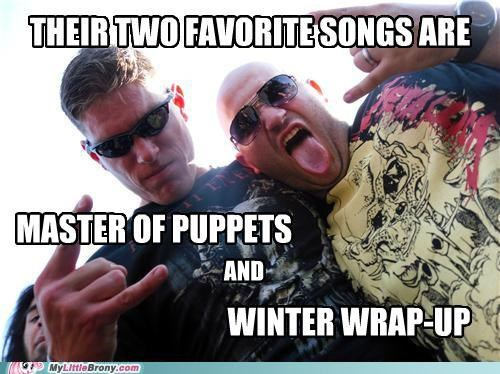 best of week For the Dudes master of puppies metal Music winter wrap up