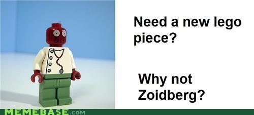 futurama lego piece playmobil Zoidberg - 5254587136