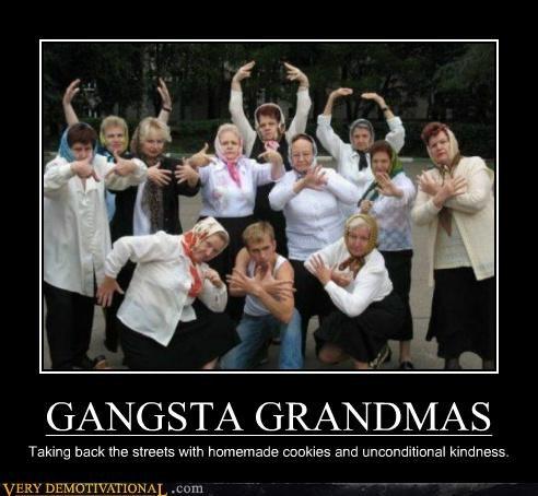 gangsta grandma hilarious wtf - 5254713344
