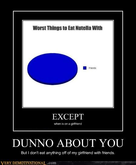 friends girlfriend graph hilarious nutella - 5254777088