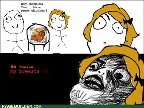 chicken,Rage Comics,she wants my,that sounds naughty