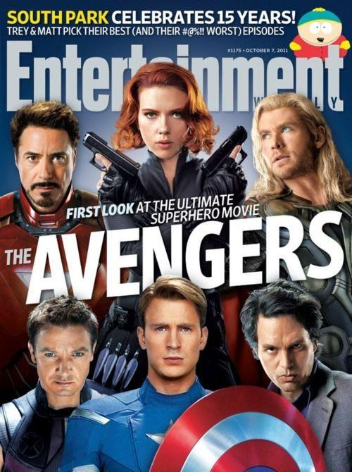 avengers,cover story,Entertainment weekly,Joss Whedon,movies,Nerd News,superheroes