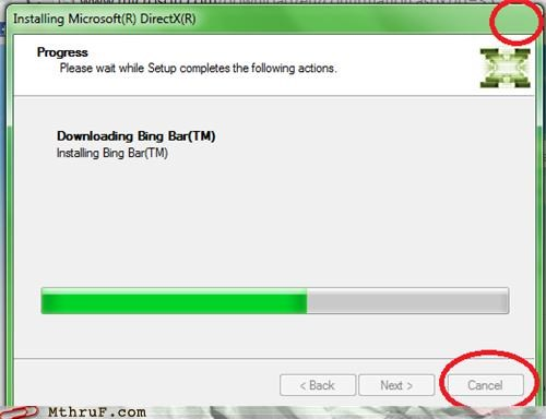 bing,direct x,downloading,installing,microsoft
