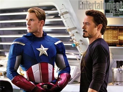 avengers Entertainment weekly first official set photos movies set photos set pics superheroes - 5255416576