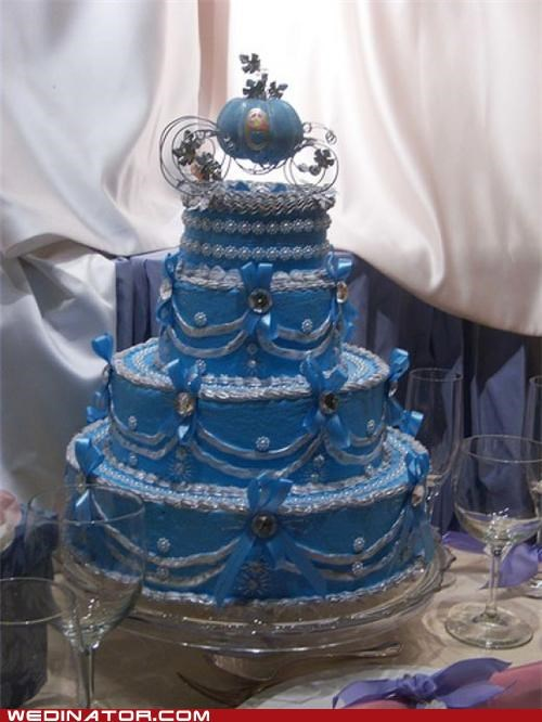 cakes cinderella disney funny wedding photos Hall of Fame wedding cake - 5255608576