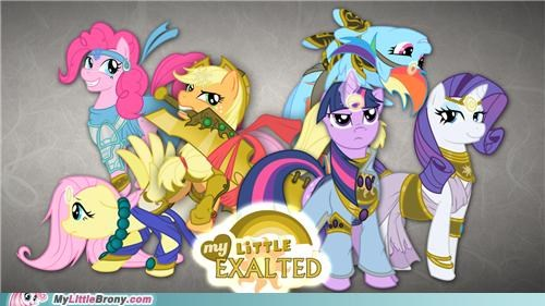 awesome best of week crossover exalted mane six my little exalted zenith castle - 5255671808