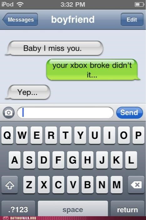 console text texting video games We Are Dating xbox - 5255738880