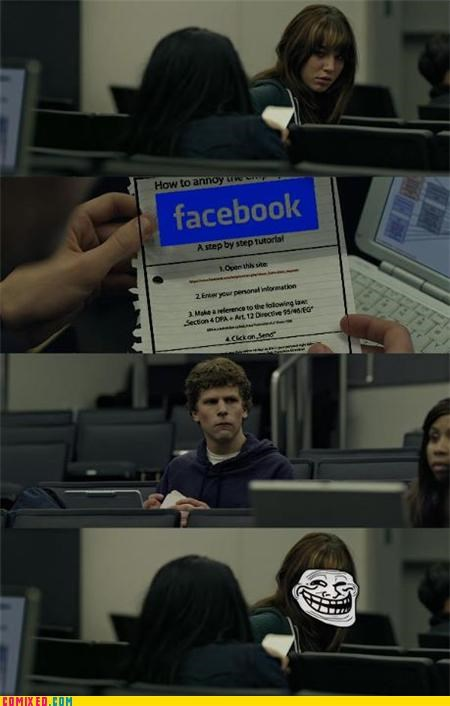 Annoying Facebook is annoyed