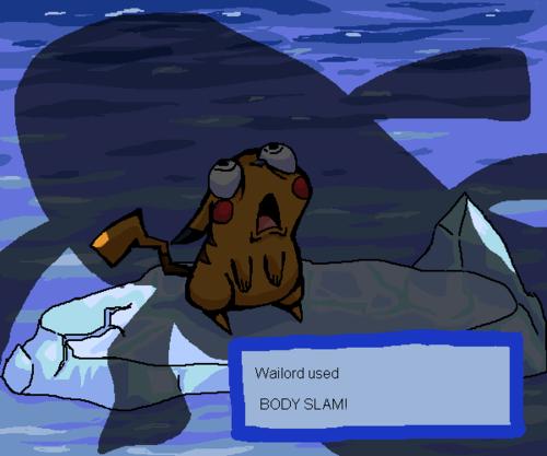 Battle best of week body slam pikachu that expression wailord - 5255790592