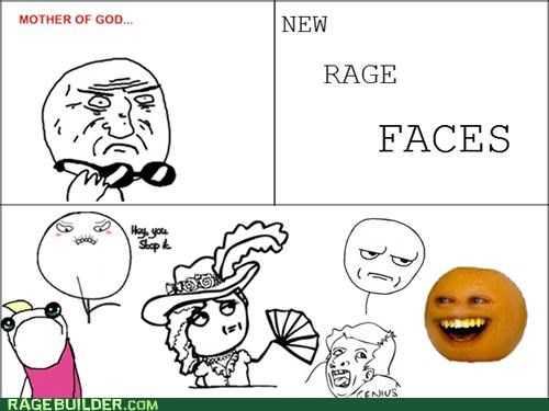 annoying orange,mod comics,mother of god,Rage Comics
