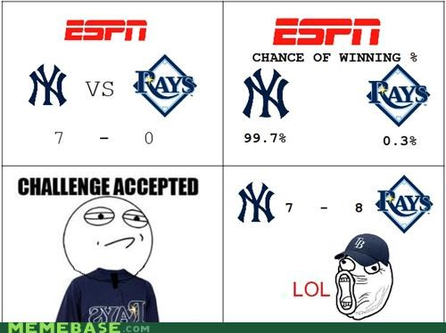 baseball NY Rage Comics rays sports yankees - 5255946496