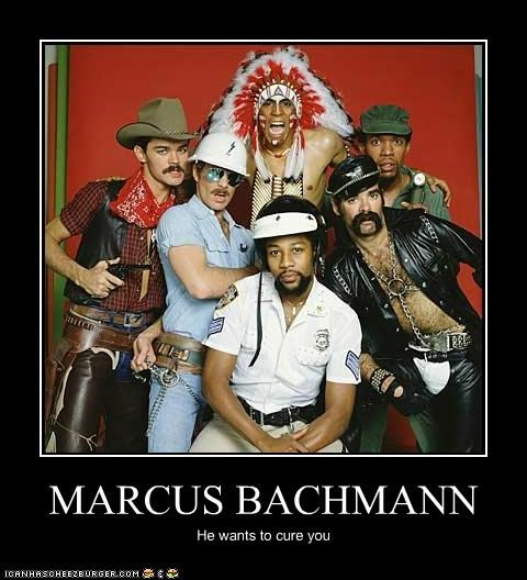 cure gay Marcus Bachmann roflrazzi The Village People - 5256078080