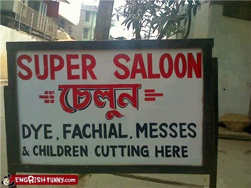 beauty salon business hair salon saloon sign