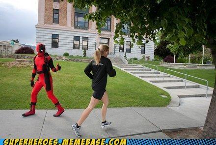 deadpool Sexy Ladies Superhero IRL - 5256116992