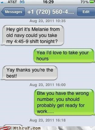 old navy retail shift substitute text wrong number - 5256188160