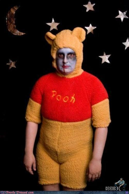 costume winnie the pooh zombie