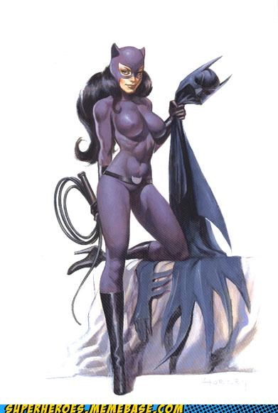 Awesome Art batman catwoman villian - 5256297984